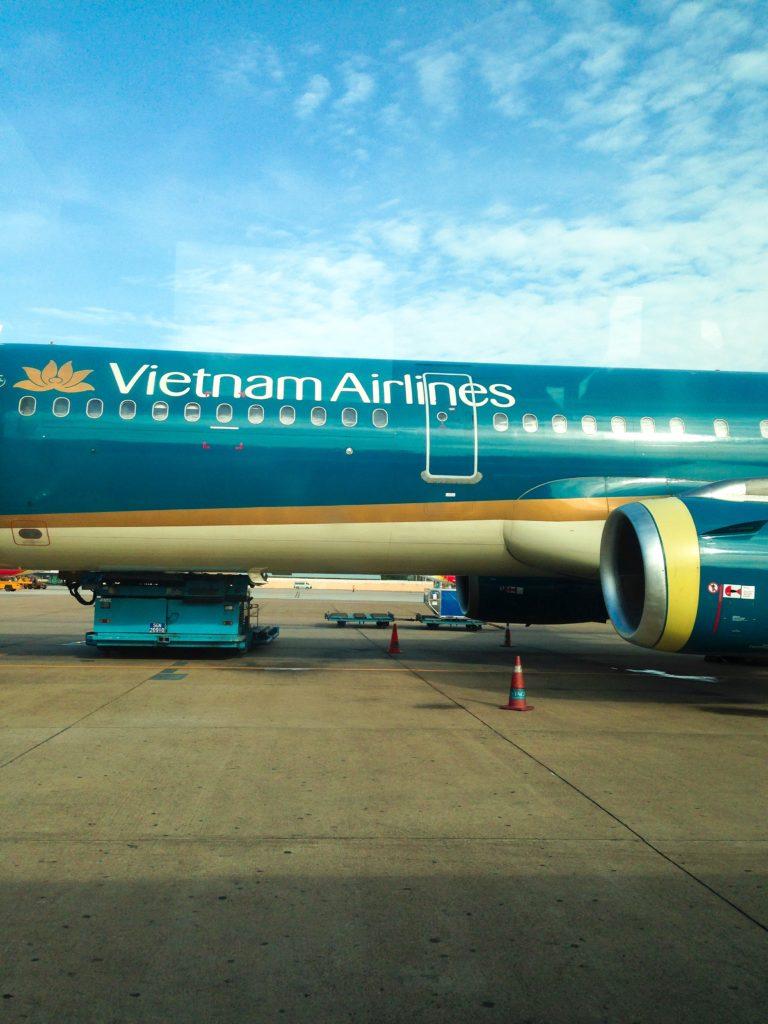 ベトナム航空でホーチミンからダナンへ向かう