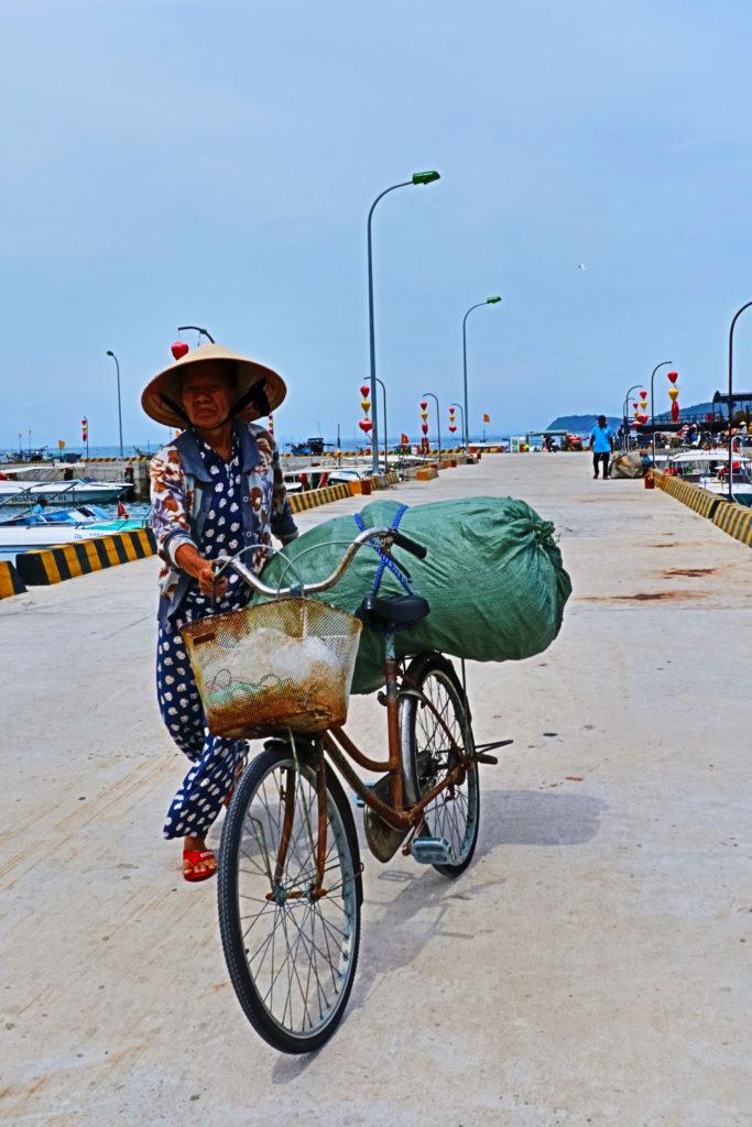 チャム島の風景