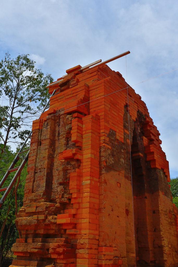 世界遺産ミーソン遺跡は修復中