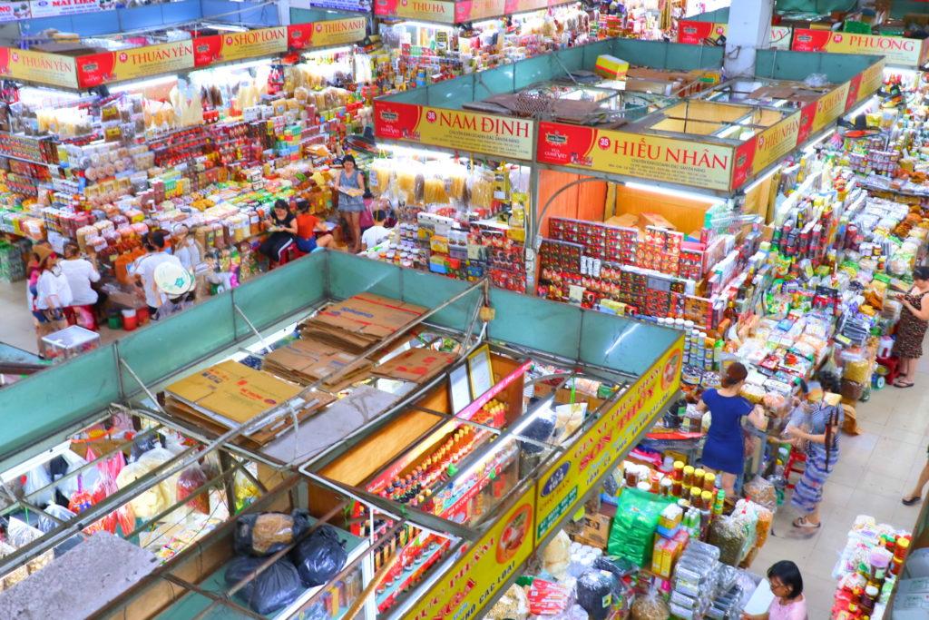 ハン市場の様子