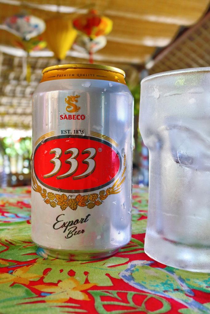 ベトナムでビール333