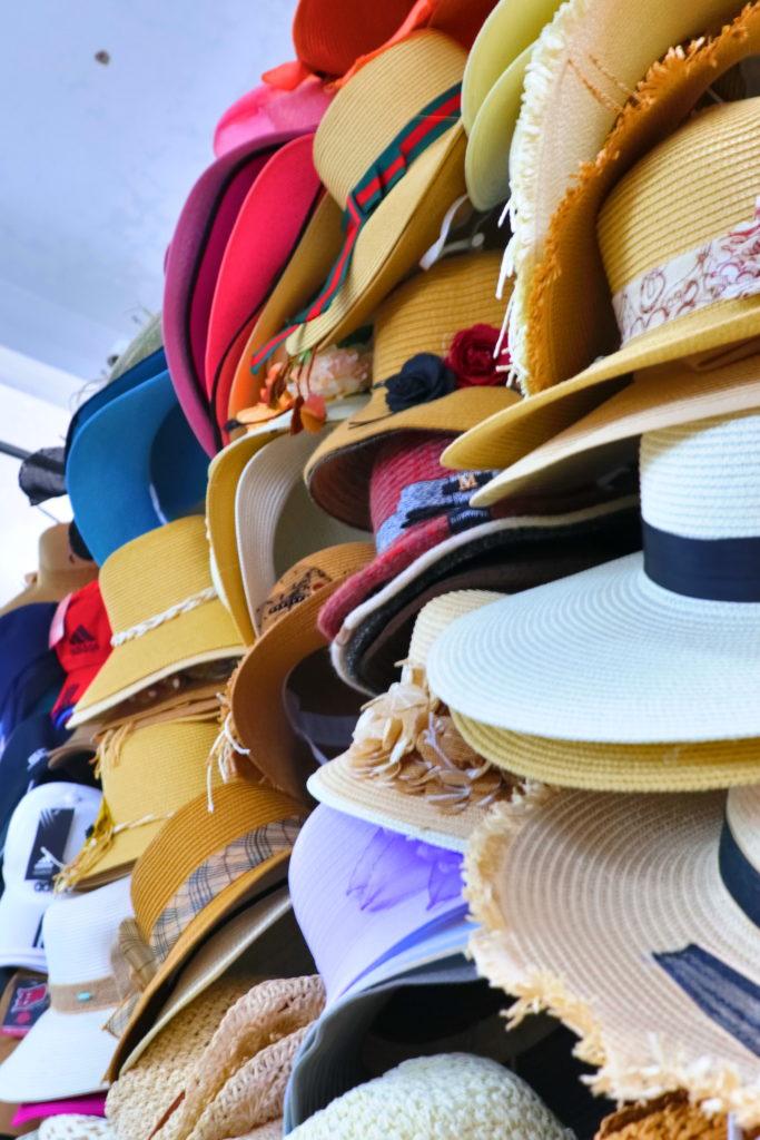 ハン市場二階の衣料品店