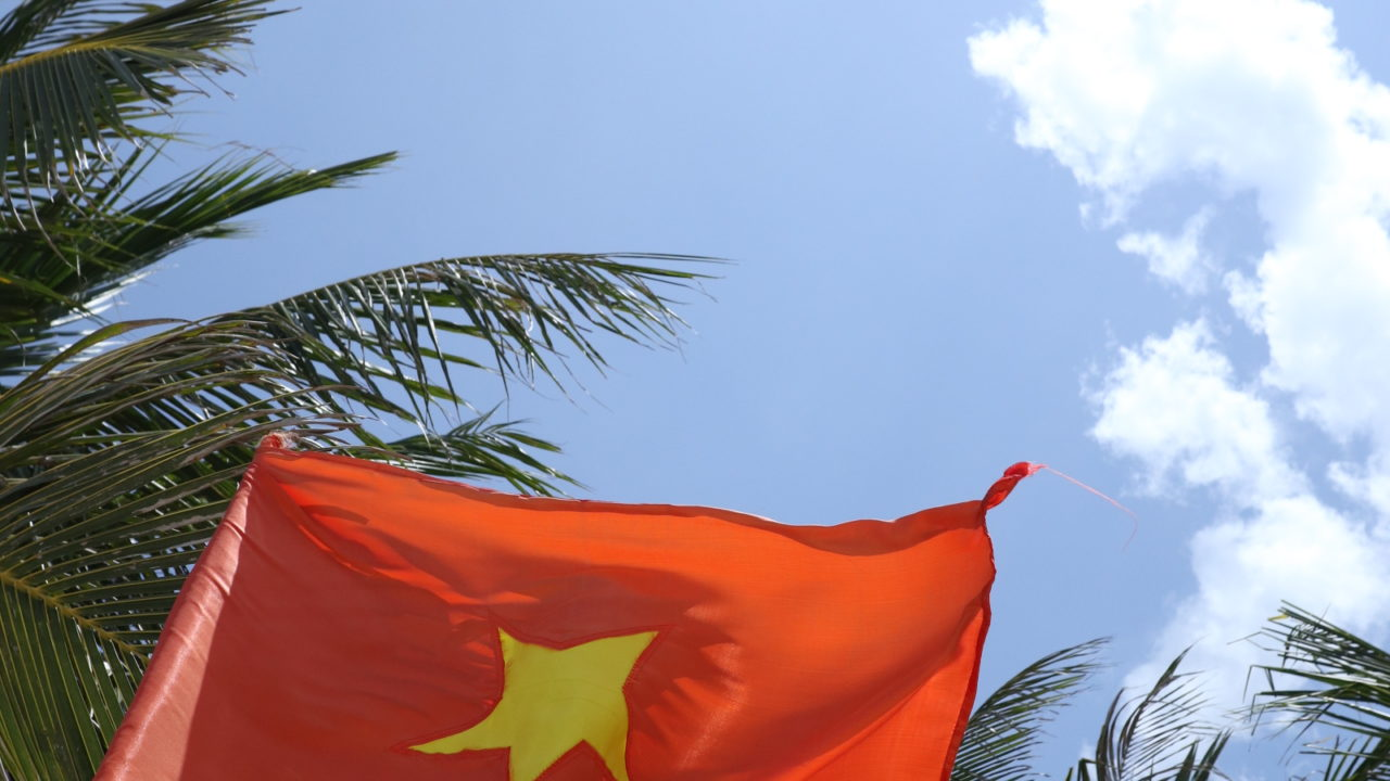 ベトナム ダナンのミーケビーチ