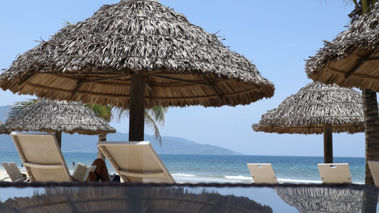 Holiday Beach DanangのBeach Bar