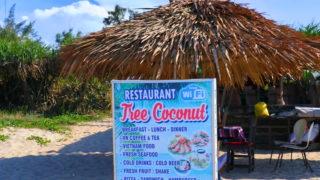 Tree Coconuts beach レストラン