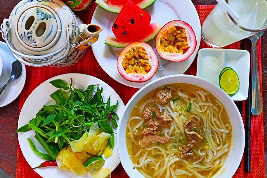 ホテルカシューツリーバンガローの朝食