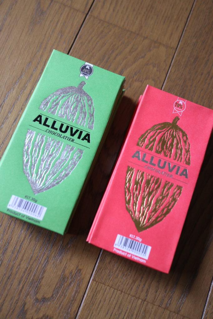 ベトナムのおしゃれなチョコレートALLUVIA